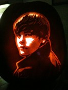 Justin Bieber pumpkin