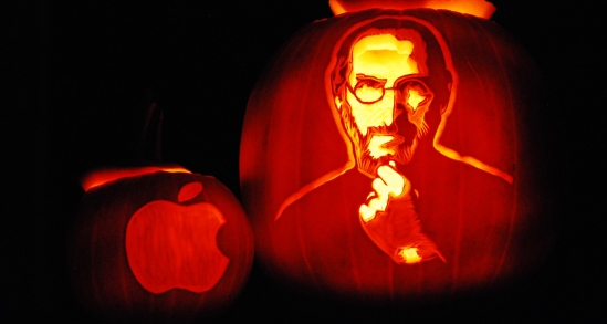 Steve Jobs pumpkin