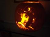 Rick Grimes Pumpkin