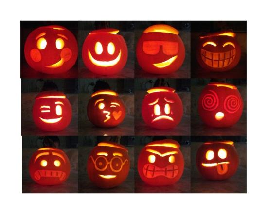 Pumpkin Emoticons