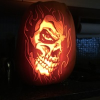 A frightening halloween!