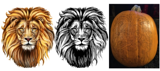 lion-carving-stages