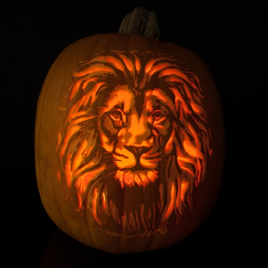 lion-pumpkin